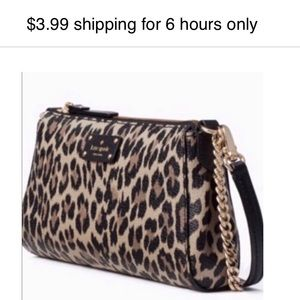 3.99 shipping til 845pm EST Kate Spade NWT bag